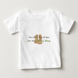 My Hero Wears Combat Boots Baby T-Shirt