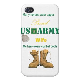 My Hero Wears Combat Boots IPhone 4 Case