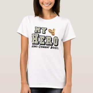 My Hero Wears Combat Boots! T-Shirt