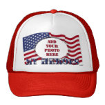 My Heroes - Add Your Photo` Trucker Hat