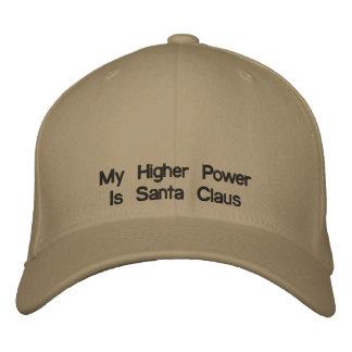 My Higher Power Is Santa Claus Baseball Cap
