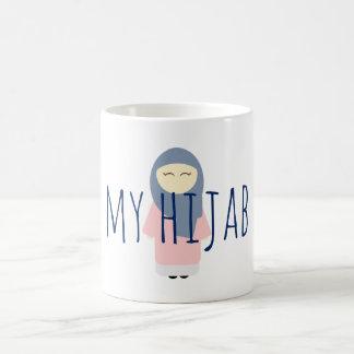 my hijab coffee mug muslim girl