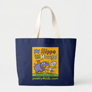My Hippo Has the Hiccups Book Bag