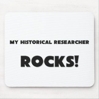 MY Historical Researcher ROCKS! Mouse Mat