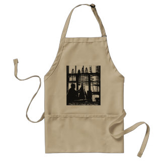 """My hobby-Building wooden old time sailing ships"" Adult Apron"