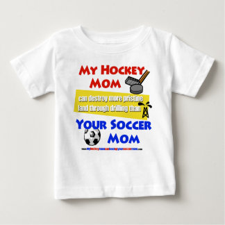 My Hockey Mom baby T-shirt