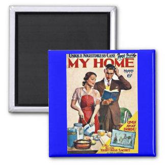 """""""My Home, 1933"""" RETRO MAGNET"""