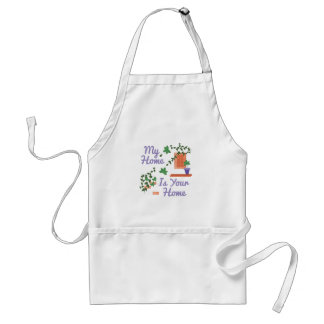 My Home Adult Apron