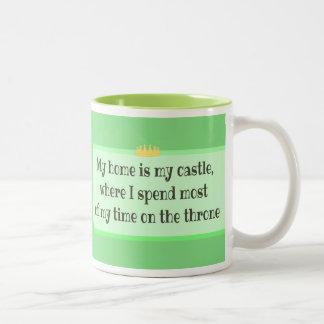 My Home is My Castle Mug