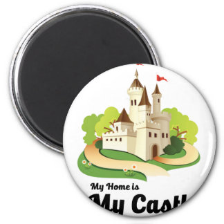 my home my castle magnet