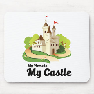 my home my castle mouse pad