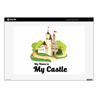 """my home my castle skins for 15"""" laptops"""