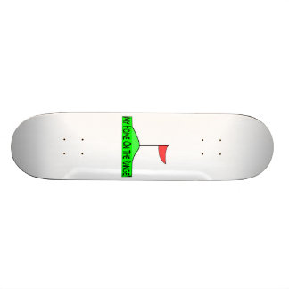 My Home On The Range Golf Skateboard Deck