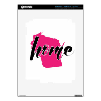 My Home State - Wisconsin Decal For iPad 3