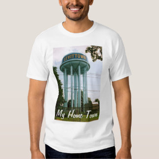 """""""My Home Town"""" Levittown Water Tower T-shirt"""