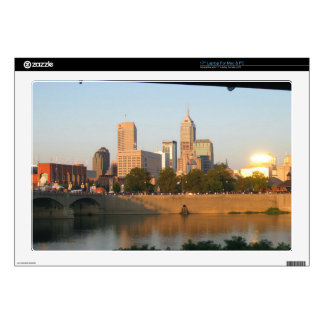 "My Hometown  Indy Photoshoot by Dale Wilhelm 17"" Laptop Skins"