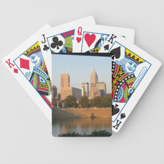 My Hometown  Indy Photoshoot by Dale Wilhelm Bicycle Playing Cards
