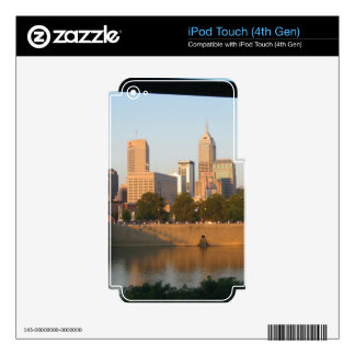 My Hometown  Indy Photoshoot by Dale Wilhelm iPod Touch 4G Decals