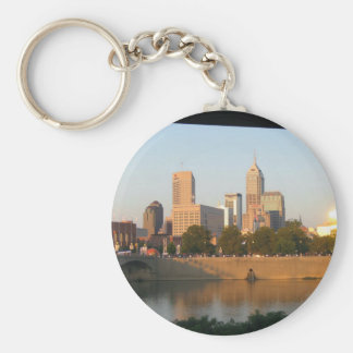My Hometown  Indy Photoshoot by Dale Wilhelm Keychain
