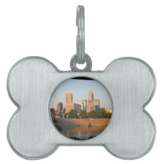 My Hometown  Indy Photoshoot by Dale Wilhelm Pet ID Tag