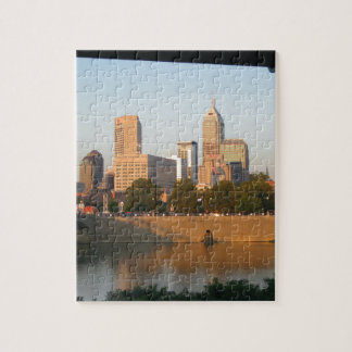My Hometown  Indy Photoshoot by Dale Wilhelm Puzzles