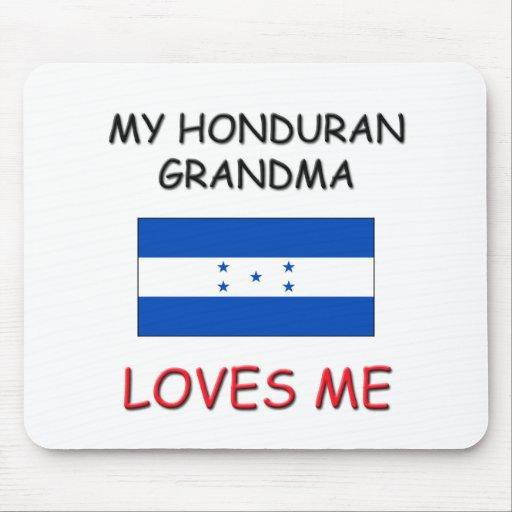 My Honduran Grandma Loves Me Mouse Mat