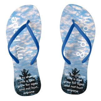 My Hope & Dream Flip Flops