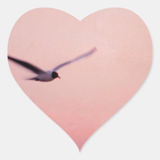 my horizon pegatina en forma de corazón
