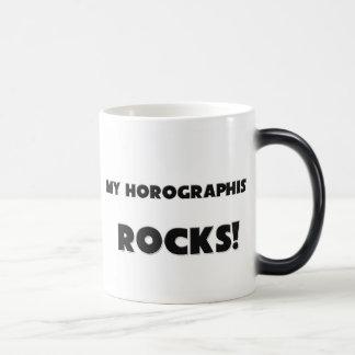 MY Horographist ROCKS! 11 Oz Magic Heat Color-Changing Coffee Mug