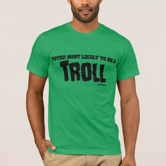My Horrible Friends™-Voted Most Likely...TROLL T-Shirt