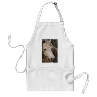My horse face adult apron