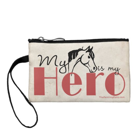 My Horse Is My Hero Coin Purse