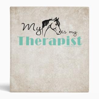 My Horse is My Therapist Binder