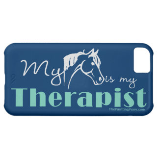 My Horse is My Therapist iPhone 5C Case