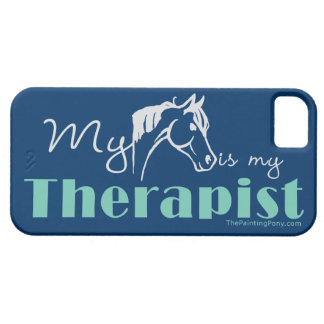 My Horse is My Therapist iPhone 5 Case