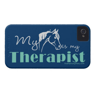 My Horse is My Therapist Case-Mate iPhone 4 Case