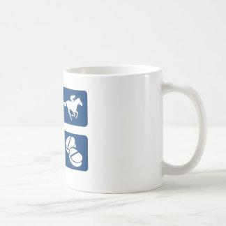 My Horse Racing your Therapy Coffee Mug