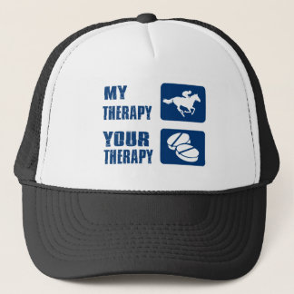 My Horse Racing your Therapy Trucker Hat