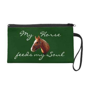My Horse Wristlet Purses