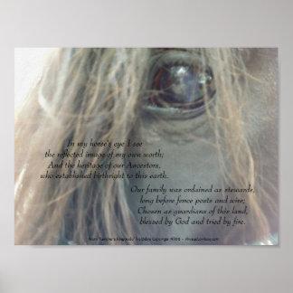 My Horse's Eye 11x8.25 matte print uv