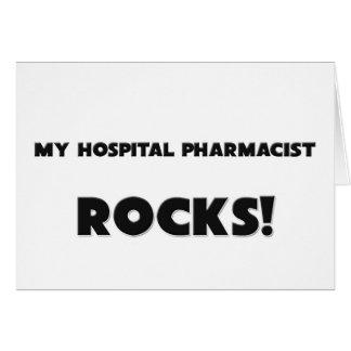 MY Hospital Pharmacist ROCKS! Greeting Cards