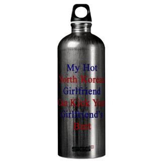 My Hot North Korean Girlfriend Can Kick Your Girlf SIGG Traveler 1.0L Water Bottle