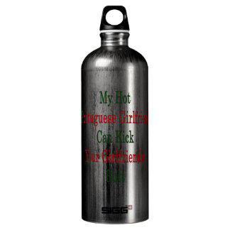 My Hot Portuguese Girlfriend Can Kick Your Girlfri SIGG Traveler 1.0L Water Bottle