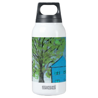 My House and Ambulance Insulated Water Bottle
