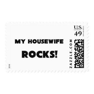 MY Housewife ROCKS! Postage Stamp