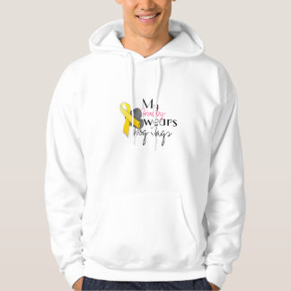 My Hubby Wears Dog Tags, customizable sweatshirt
