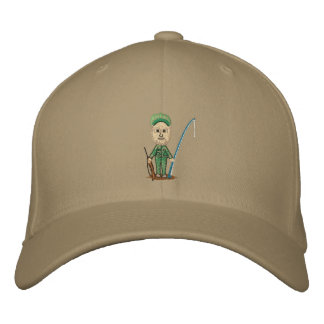 My Hunting Fishing Fitted Hat Baseball Cap