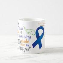 My Husband An Angel - Anal Cancer Coffee Mug