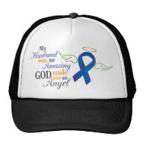 My Husband An Angel - Anal Cancer Trucker Hat