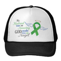 My Husband An Angel - Bile Duct Cancer Trucker Hat